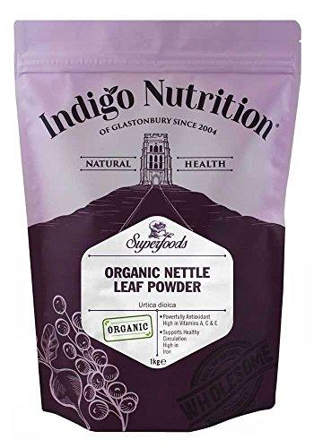 Indigo Herbs Poudre de Feuille d'Ortie Bio 1kg