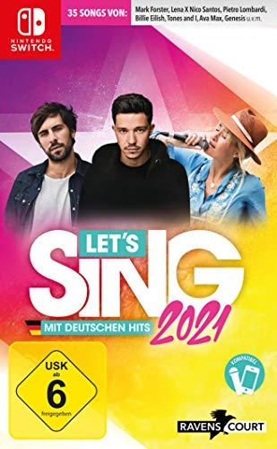 Let's Sing 2021 mit deutschen Hits - Nintendo Switch [Importación alemana]