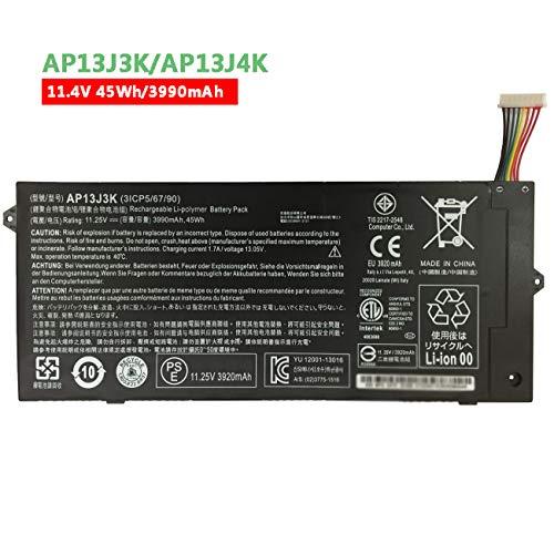 Dentsing AP13J3K (11.4V 45Wh/3990mAh) Laptop Battery Compatible with Acer Chromebook 11.6' 11 C740 C720 C720P Series Notebook AP13J4K KT.00304.001 KT.00303.001