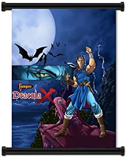 Castlevania Dracula X Game Fabric Wall Scroll Poster (32