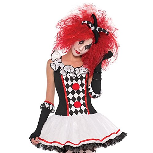 Girls Christys Dress Up Harlequin Honey Halloween Costume - 12-14 Years by Amscan
