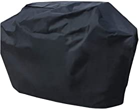 Hongso Barbecue Grill Cover for Weber(Genesis), Charmglow, Brinkmann, Jennair, Uniflame, Lowes, and Other Model Grills (58-inch) (Medium)