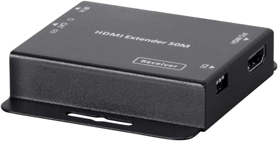 164-Feet Loop Out Monoprice 118786 Blackbird 4K HDMI 1x4 Splitter ...