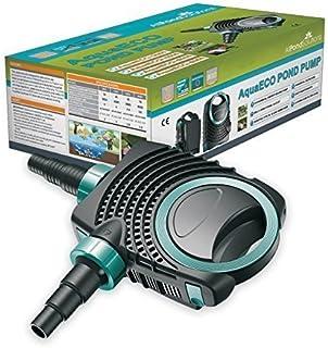 AquaECO Estanque Bomba 4500L/H - Bajo Wattage - Koi Peces Filtro Tipo Cascada - Todas Las Soluciones De Estanques