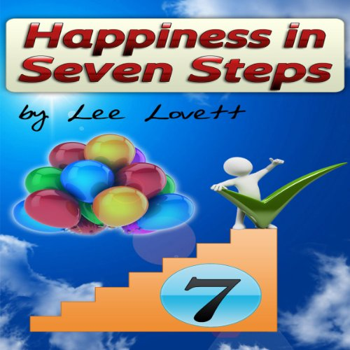 Happiness in Seven Steps audiobook cover art