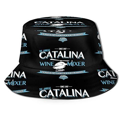 Cappello da Pescatore Catalina Miscelatore da Vino Cappello da Pescatore Cappello da Sole Unisex Cappello da Viaggio stampabile Pescatore Stampato Cappello da Esterno Moda