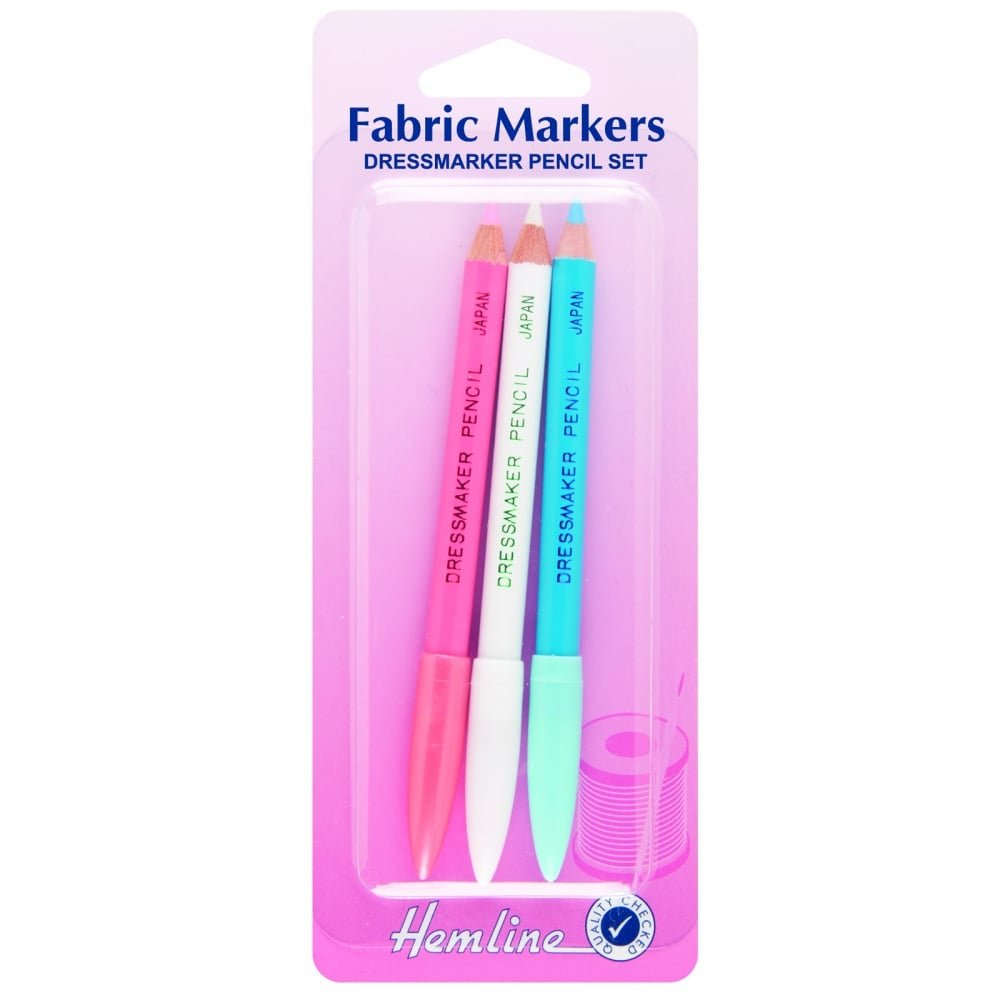 In Re-Usable Case 4 Different Colour Tailors Chalk Hemline H245