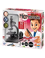 Buki MS907B Microscoop 30 Experimenten, Vanaf 8 Jaar, 37.9 x 8.4 x 31.9 cm