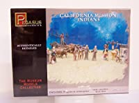 カリフォルニアミッション 神父・インディアン