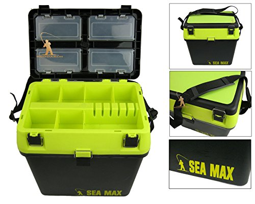 Roddarch SEA MAX© Sea Fishing Tackle Seat Box. Genuine Product.