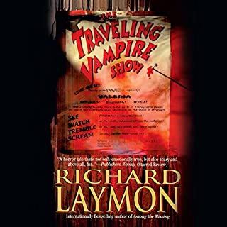 The Traveling Vampire Show audiobook cover art