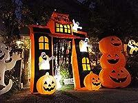 どうせやるなら最上級に!テーマパーク級のハロウィン飾りホームステッドゲートのエアブロー メガサイズ/グッズ/インスタ映え