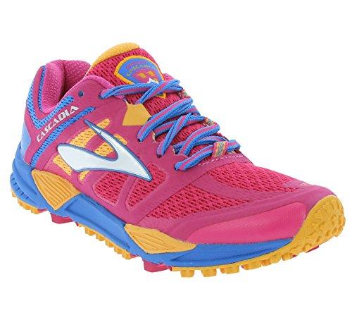 Brooks Cascadia 11 - Zapatillas de trail running para mujer Rosa Size: 36.5 EU