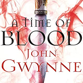 A Time of Blood cover art
