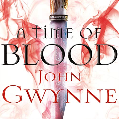 A Time of Blood audiobook cover art