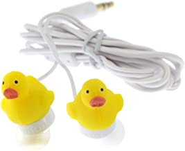 DCI 14352 Duck Earbuds for Mobile Devices - Retail Packaging - Yellow