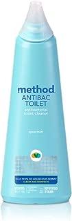 Method Antibacterial Toilet Bowl Cleaner, Spearmint, 24 Ounce, 6 Pack