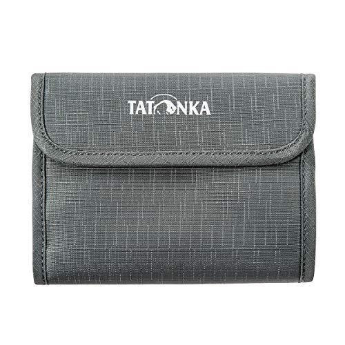 Tatonka Euro Wallet Geldbeutel, Titan Grey, 13,5 x 11 x 1 cm
