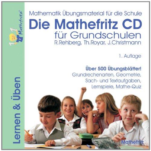Die Mathefritz CD-ROM für Grundschulen. Für Windows und Mac [import allemand]