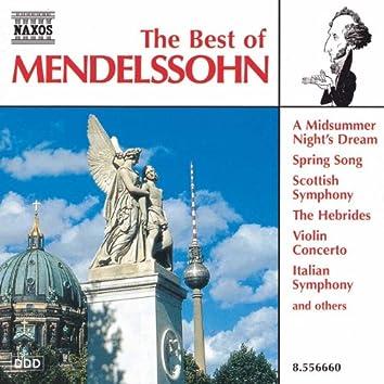 MENDELSSOHN (THE BEST OF)