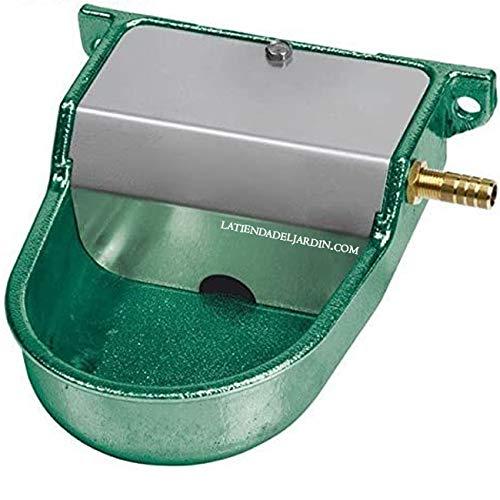 Copele Chiens Petits. Se recours à basse pression ou sortie de réservoir d'eau. Bain Animaux Vert avec dimensions : 12 x 16 x 6 cm