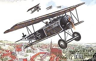 Roden Fokker D.VI Single Seat Biplane Fighter Airplane Model Kit