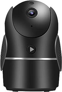 1080P HD wifi-beveiliging thuiscamera, bewegingsdetectie binnenshuis 2-weg audio-babyfoon met nachtzicht, ondersteunt meer...