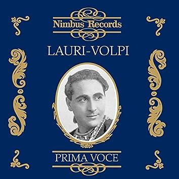 Giacomo Lauri-Volpi (Recorded 1922 - 1942)