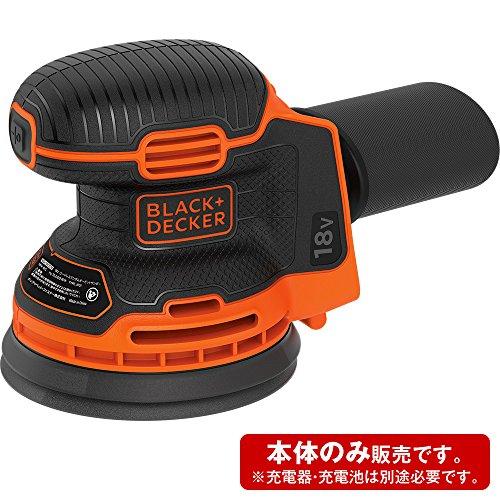 ブラックアンドデッカー18Vリチウムコードレスランダムオービットサンダー(本体のみ)BDCROS18B【日本正規代理店品】