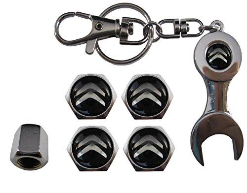 Llavero metal + valvulas compatible con Citroen aut011-26