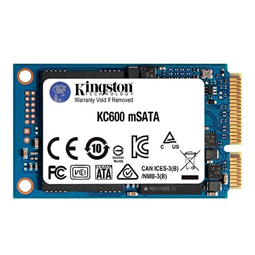 キングストンテクノロジー Kingston SSD KC600 512GB mSATA 3D TLC NAND採用 SKC600MS/512G 正規代理店保証品 5年保証