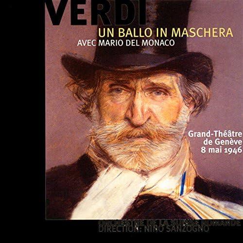 Mario del Monaco, Orchestre de la Suisse romande, Nino Sanzogno