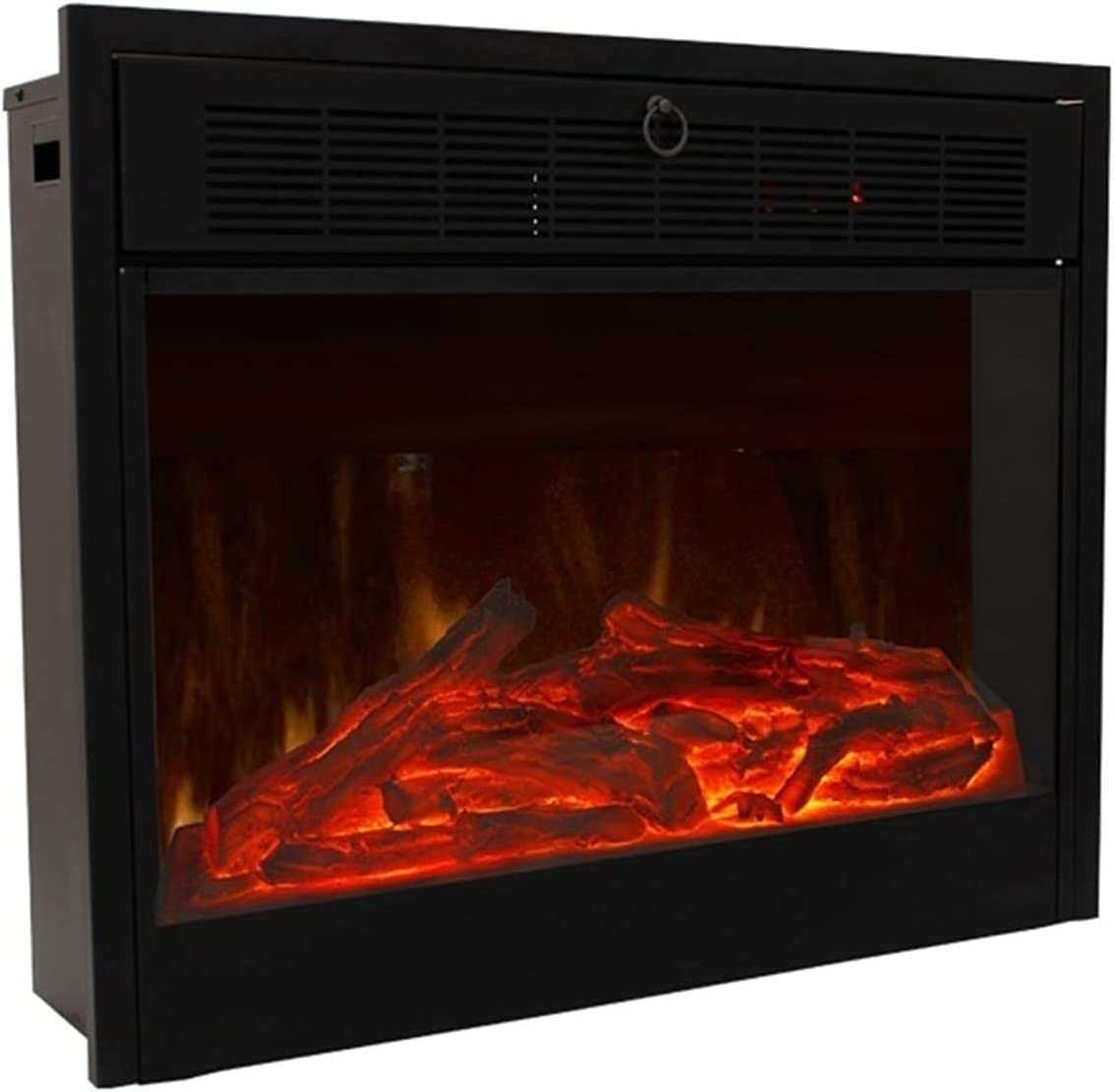 Fireplaces RENJUN- Embedded Electric Free shipping anywhere in the nation Heater 4 years warranty Realistic Flame with