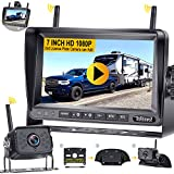 Wireless Backup Camera HD 1080P with 7 Inch DVR...
