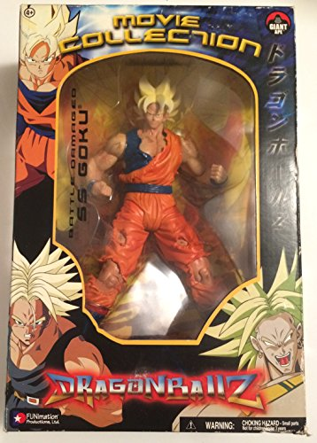 DRAGONBALL Z MOVIE COLLECTION BATTLE DAMAGED SS GOKU