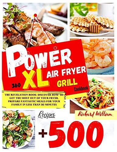 Power Xl Air Fryer Grill Cookboo...