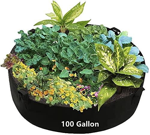 100 Gallon Plant Grow Bags,Potato Grow Bags,Potatoes Growing Bags,Tomato Grow...