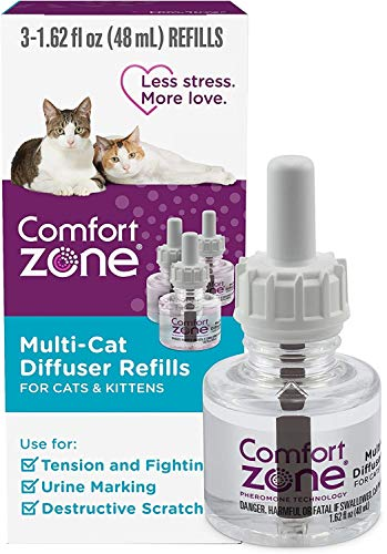 Multicat Calming Diffuser Refill, 48 ml - 3 Count , 90 Day Use