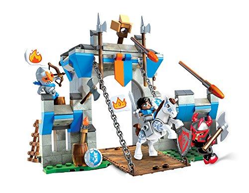 Mega Construx World - Playset Giocattolo Dragon Castle Clash 238 Pezzi con 3 Figure - Mega Bloks - FNY18
