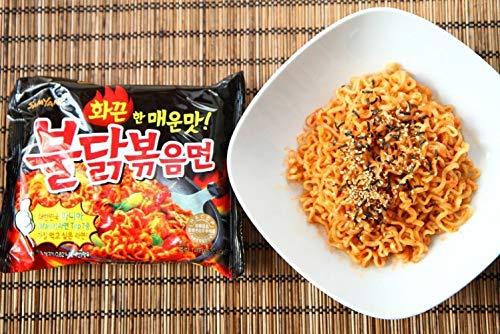 Samyang Instant Ramen Noodles, Halal Certified, Spicy Stir-Fried Chicken Flavor - PACK OF 30