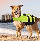 PETLESO Dog Life Jacket Large, Dog Life Vest...
