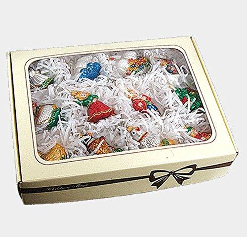 Pinnacle Peak Trading Company Twelve Days of Christmas Polish Mouth Blown Glass Christmas Ornament Set 12 pc
