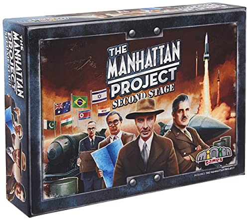 Minion Games The Manhattan Project: Second Stage Board Game