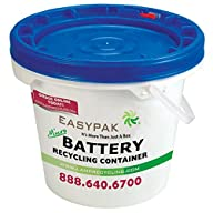 EasyPak Micro Battery Recycling Container