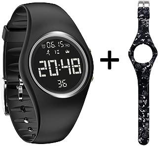 Fitness Tracker, Smart Watch Non-Bluetooth, Pedometer Smart Bracelet with Timer Step Calories Counter Date Vibration Alarm for Sport Walking Kids Women Men