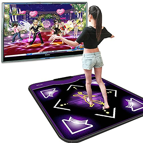 Tanzmatte, Einzeltanzmatte Mit Computer-USB-Schnittstelle Yoga Laufspielmaschine Fitness Kinder Erwachsene Home Pad