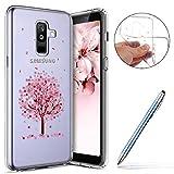 Robinsoni Cover con Samsung Galaxy A6 Plus 2018 Cover Silicone Galaxy A6 Plus 2018 Case Tr...