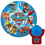 Projectables LED Plug-in Night, Blue and Red, Light Sensing, Auto Nickelodeon Paw Patrol Image on Ceiling, Wall, or Floor, 30604, Multi