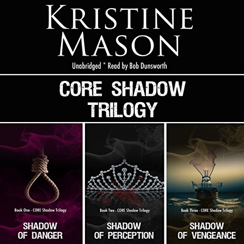 C.O.R.E. Shadow Trilogy audiobook cover art