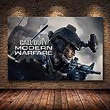 manyaxiaopu Call of Duty Modern Warfare Wandkunst Leinwand